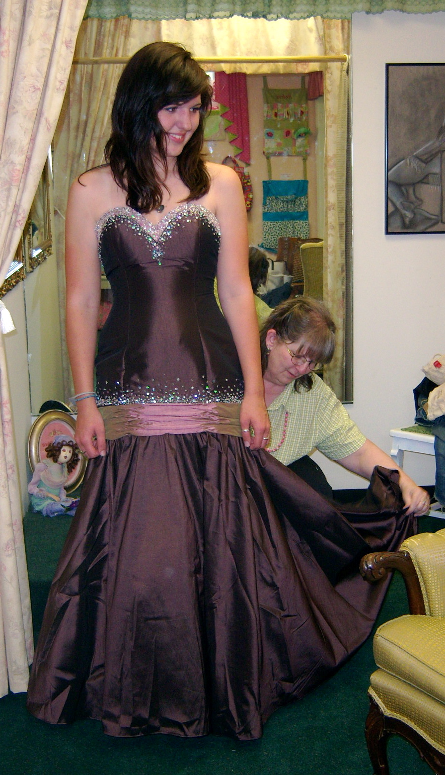 Gown Fitting and Alterations